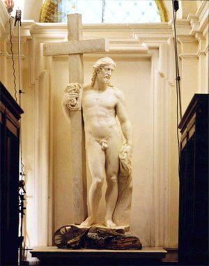 Il Cristo portacroce di Michelangelo