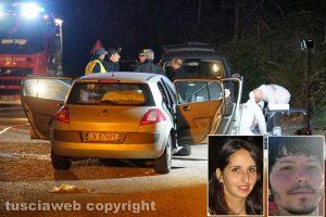 Orte - L'auto de femminicidio - suicidio - Silvia Tabacchi e Francesco Marigliani
