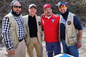 Sport - I tiratori dello Shooting club Vasanello e del Monkey shooting club