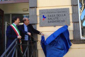 L'inaugurazione della casa della salute di Bagnoregio