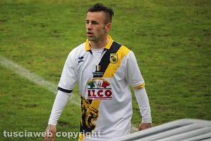 Sport - Calcio - Viterbese - Il match contro la Giana Erminio - Sandomenico