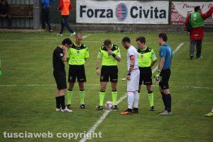 Sport - Calcio - Un derby tra Flaminia e Monterosi