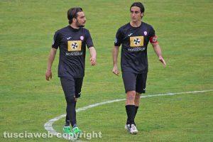 Sport - Calcio - Monterosi - Francesco Manoni e Orlando Fanasca