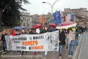 Vignanello - Vallerano - Il corteo antiviolenza