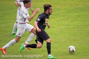 Sport - Calcio - Il derby tra Flaminia e Monterosi