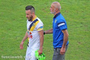 Sport - Calcio - Viterbese - Lillo Puccica e Samuele Neglia