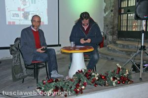 La presentazione del Caffeina Christmas village