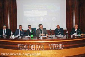 Viterbo - L'incontro del centrodestra alle Terme dei Papi