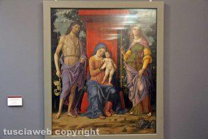 Viterbo - Mantegna - Madonna con Bambino e Santi al Museo civico