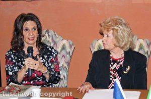Laura Allegrini e Maria Teresa Lecchini
