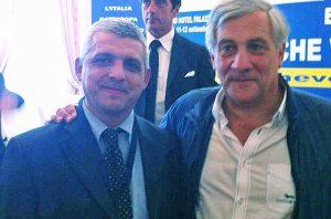 Pietro Lazzaroni e Antonio Tajani