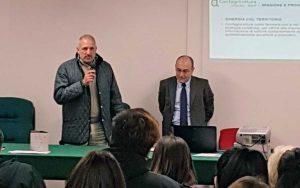 Confagricoltura - Il presidente Chiarini e il direttore Ciorba