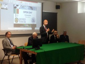 L'open day all'università di Civitavecchia