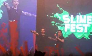 Milano - Alessio Bernabei allo SlimeFest 2016
