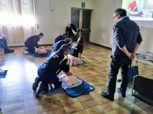Tarquinia - I volontari a lezione