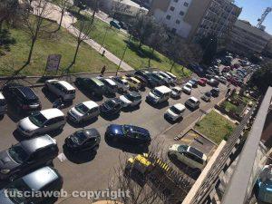 Viterbo - Traffico in tilt