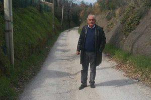 Viterbo - L'assessore Ricci su strada Salemme