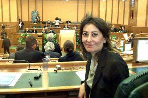 Silvia Blasi (M5s) in consiglio
