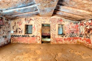 Tarquinia - Tomba degli Scudi