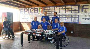 Vitersport Libertas ai campionati nazionali di calcio balilla paralimpico