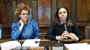 Viterbo - Testamento biologico - Melissa Mongiardo e Sonia Perà