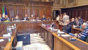 Viterbo - Consiglio comunale - Viva Viterbo abbandona i lavori