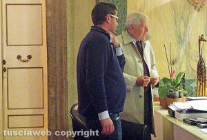 L'assessore Barelli a colloquio col sindaco Michelini nel suo ufficio