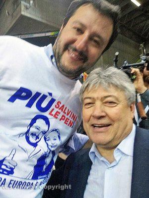 Matteo Salvini e Umberto Fusco