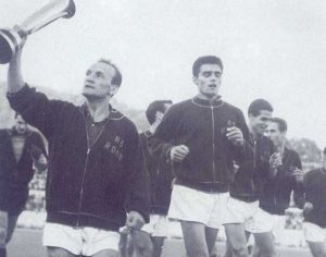 Sport - Calcio - Giacomo Losi con la Roma (1960/61)