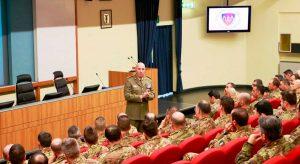 Il corso ai sottufficiali dell'esercito