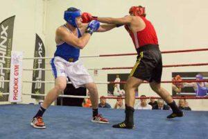 Sport - Boxe - Nikolas Inzinna della Fanum Viterbo