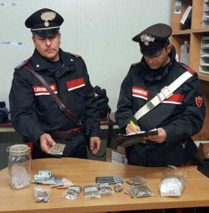 La droga sequestrata dai carabinieri di Civitavecchia