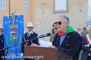 Viterbo - Festa della Liberazione - L'intervento di Enrico Mezzetti (Anpi)