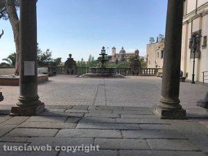 Viterbo - Riaperto il giardino di Palazzo dei Priori