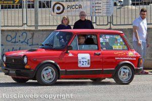 Sport - Motori - Francesco e Giuseppe Di Pietra su una Autobianchi A112