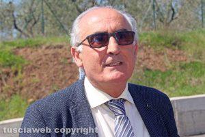Viterbo - L'assessore Alvaro Ricci