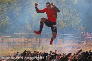 Sport - La Reebok Spartan race di Orte