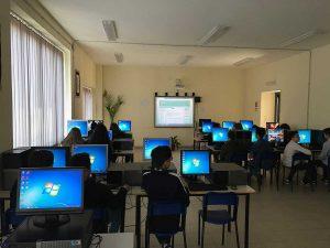 La nuova aula d'informatica
