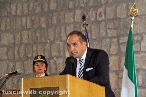 165esimo anniversario della polizia - Il questore di Viterbo Lorenzo Suraci