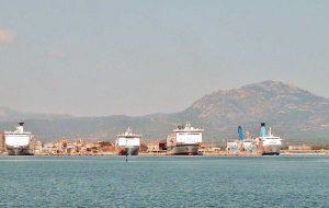 Il porto di Olbia