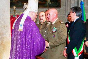 Viterbo - Celebrato il Precetto Pasquale militare