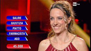 La viterbese Elisa Anzellotti vince il montepremi dell'Eredità