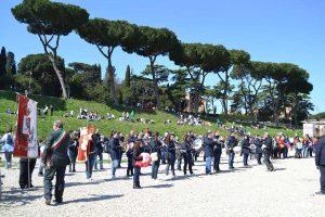 La banda di Gallese alla Maratona di Roma