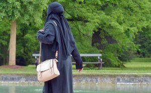 Donna con il burka