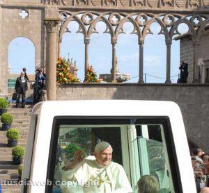 Benedetto XVI a Viterbo