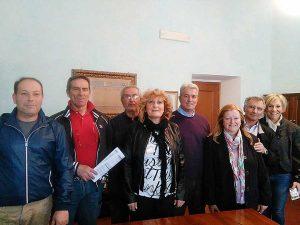 Canino - La sindaca Lina Novelli incontra il presidente della Cri