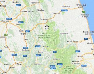 Terremoto nel centro Italia - Macerata - La scossa di magnitudo 3,6