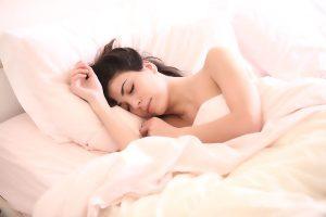 Letto - Donna che dorme