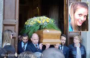 Caprarola - I funerali di Nikita Ricci