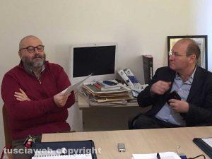 Tusciaweb Academy - Il procuratore capo Paolo Auriemma e il direttore Carlo Galeotti